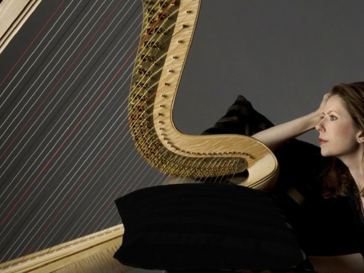 Internationally Acclaimed Harpist Yolanda Kondonassis
